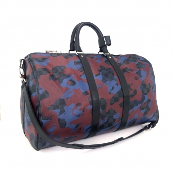 SALE! LOUIS VUITTON Keepall Damier Camouflage N41513 Bandouliere neuw limited Edition*