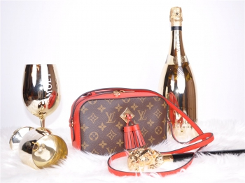 LOUIS VUITTON Saintogne Monogram Red Rot M43556 neuw. - SOLD OUT - FULLSET*