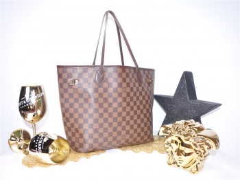 LOUIS VUITTON Neverfull MM Damier*