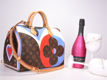 LOUIS VUITTON Speedy 30 Bandouliere Monogram Game On M57451 NEU FULLSET*