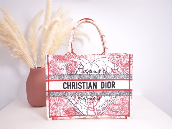 DIOR BOOK TOTE BAG D-Royaume d'Amour limited*