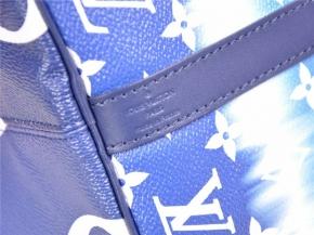 LOUIS VUITTON Speedy 30 Escale Blau - Neu - Fullset M45146*