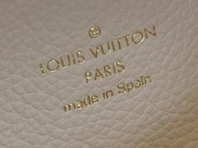 LOUIS VUITTON Double Zip Pochette GIANT NEU M80084 Creme / Bois de Rose*