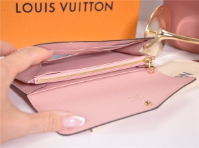 LOUIS VUITTON Geldbörse Sarah Empreinte Rosa Poudre M64082 - NEU - FULLSET*